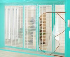 PE 지퍼식 창문/베란다 방풍비닐