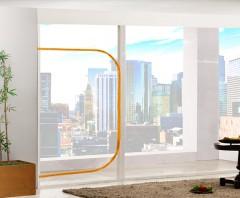 EVA 지퍼식 창문/베란다 방풍비닐